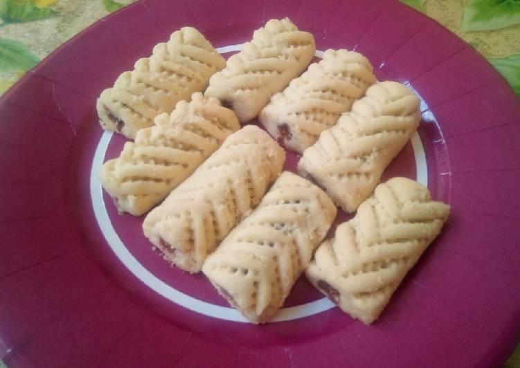 Gâteau aux pâte des dattes