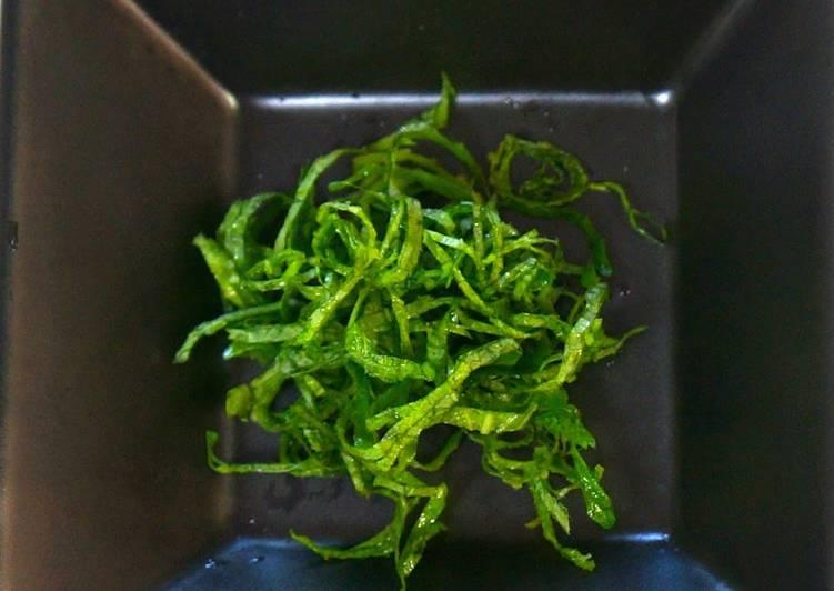 Recipe of Speedy Secrets on Shredding Shiso Leaves