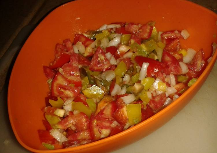 Healthy Recipe: Appetizing Healthy Spicy Salsa