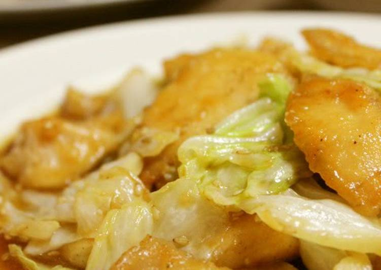25 Minute How to Prepare Favorite Tender Chicken Breast and Cabbage Stir-Fry in Delicious Sauce