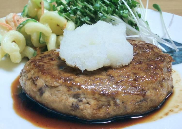 Teriyaki Sardine Hamburgers
