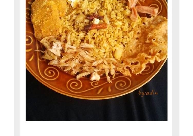 Nasi Kebuli Ayam Rumahan