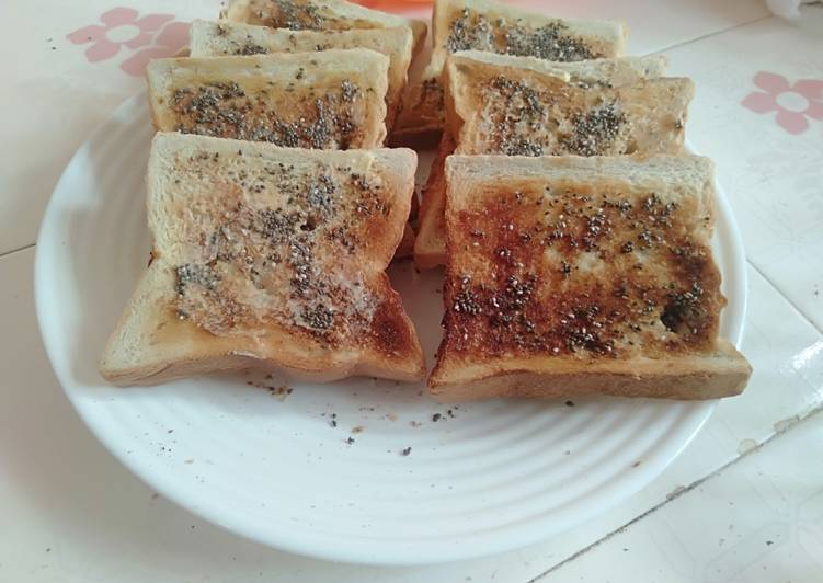 25 Minute Step-by-Step Guide to Make Any Night Of The Week Toast Bread with Chia Seeds toppings
