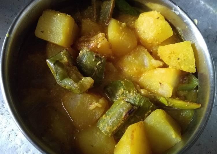 Turn to Food to Improve Your Mood Jhinge aaloo posto