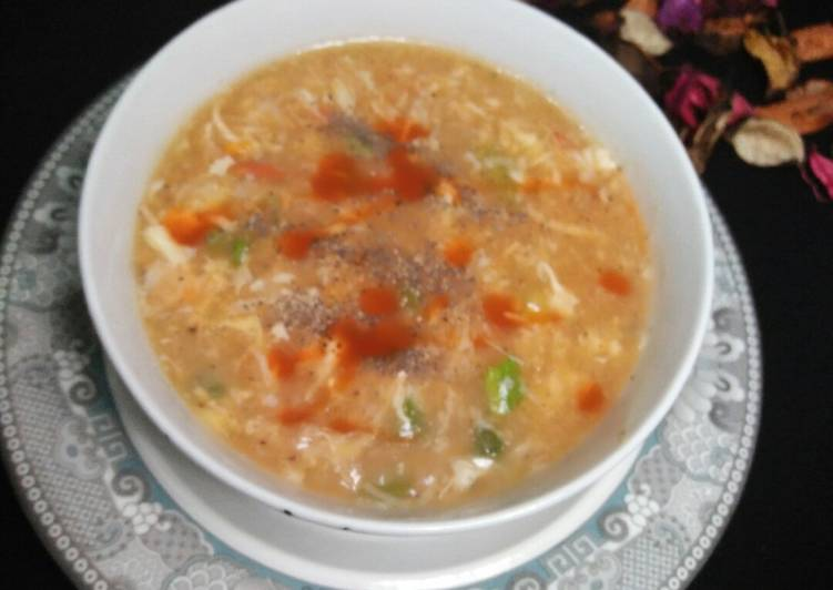 Easy Guide to Make Delicious Hot and Sour Soup😀😀
