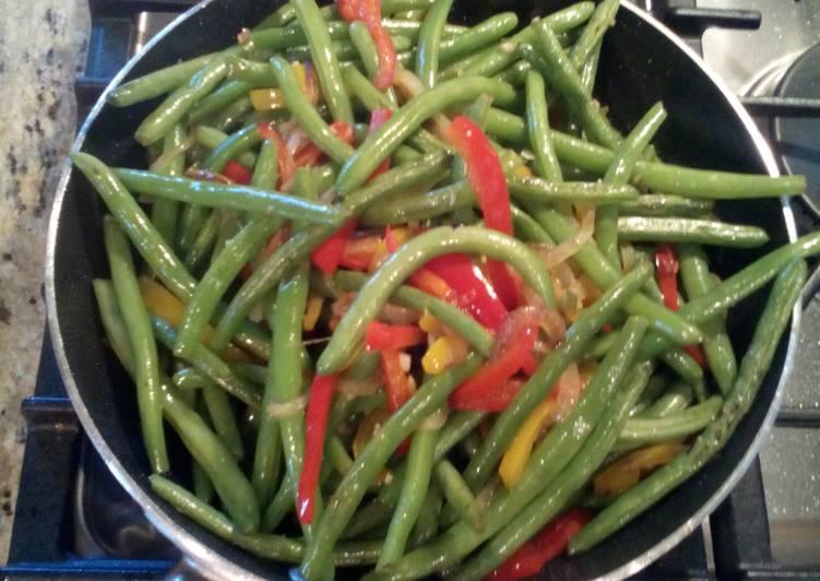 How to Prepare Homemade Sauté Green Beans