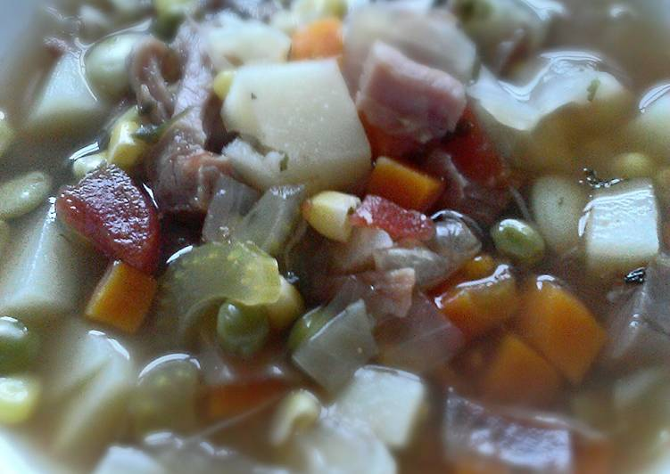 Homemade Ham & Vegetable Soup, Some Foods That Are Good For Your Heart