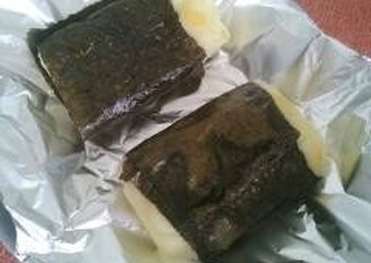 Easiest Way to Make Favorite Nori Seaweed Wrapped Mochi and Cheese
