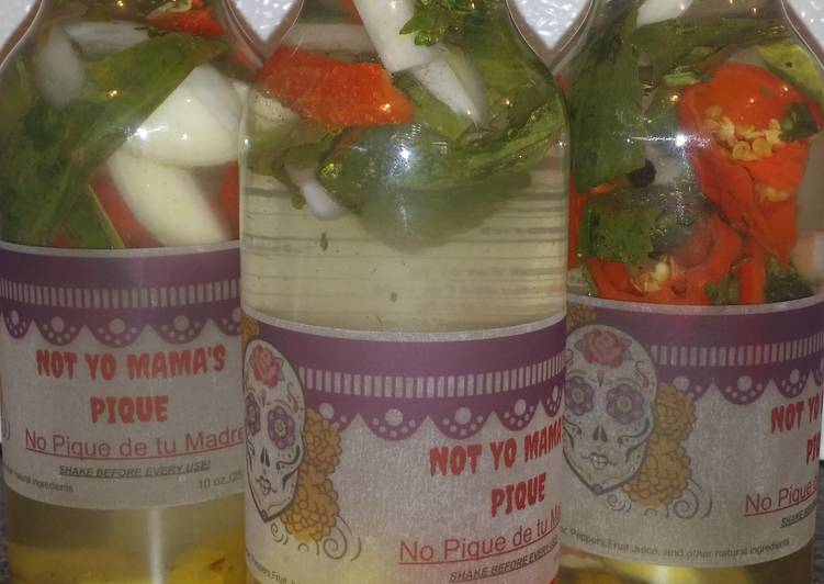 Pique (Puerto Rican Hot Sauce)