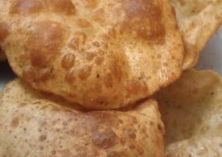 How to Prepare Favorite Poori--Indian Deep-Fried Bread
