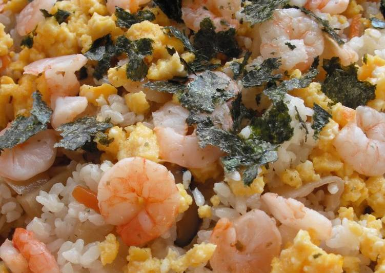 10 Minute Recipe of Love 5-Ingredient Chirashi Sushi