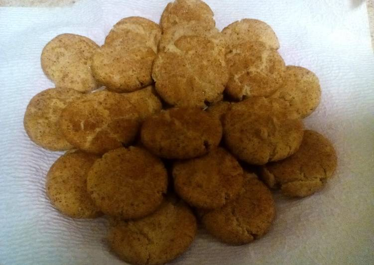 Amish Friendship Bread Snickerdoodle Cookies