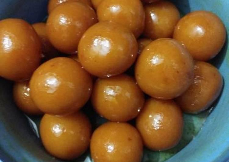Milk Powder Gulab Jamun