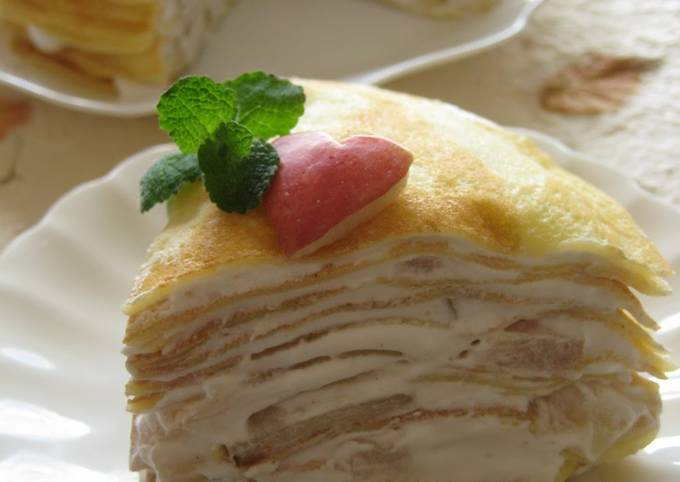 How to Prepare Yummy Cinnamon and Apple Rice Flour Milk Crepes