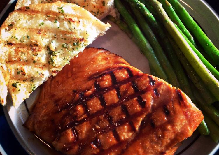 Hoisin Grilled Salmon