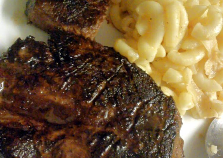 honey glazed beef steak