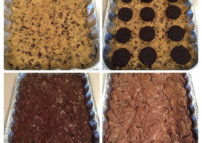Double Chocolate Cookie Bar