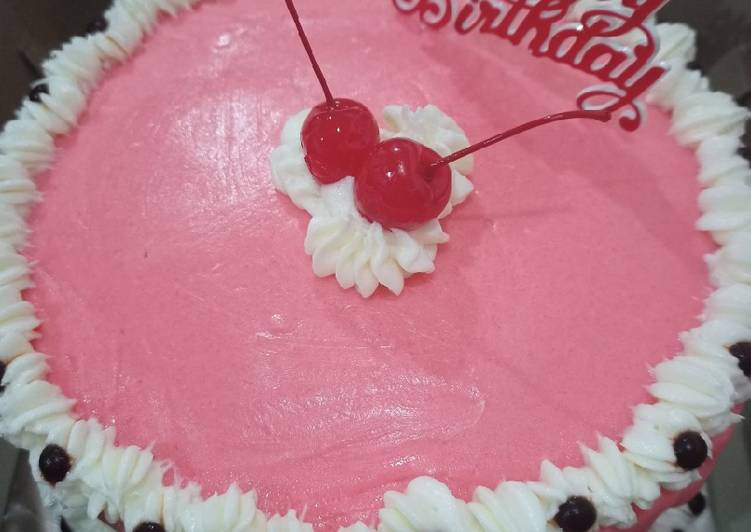 Blackforest cake mudah