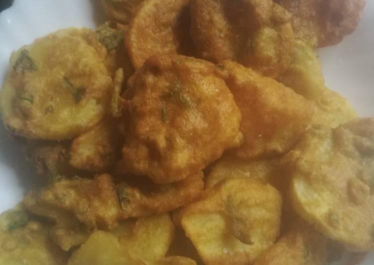 Easy and sweet homemade Bhajias