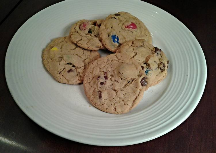 Cherry Chocolate Chip Almond Cookies