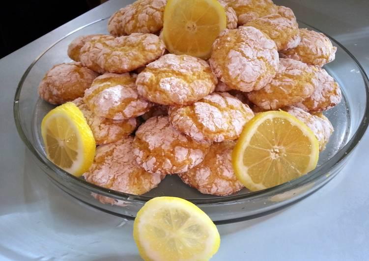 skye's easy lemon drop cookies