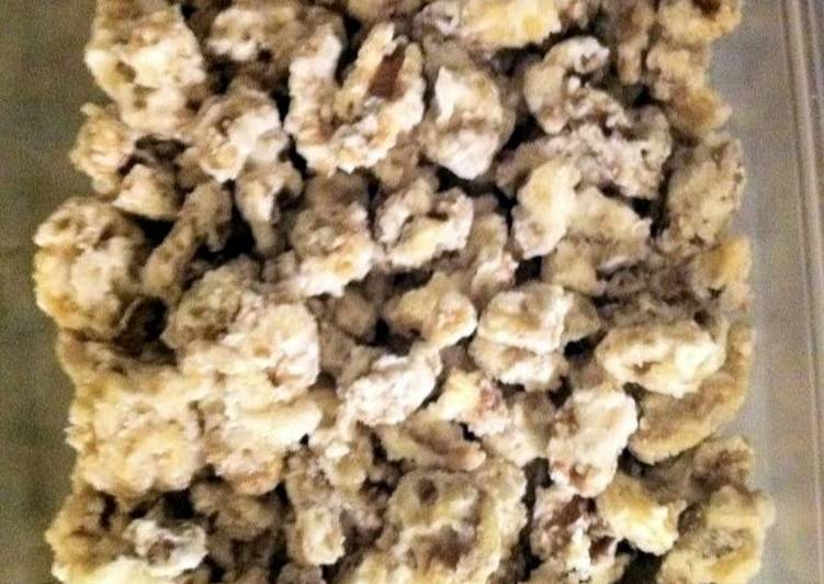 Sour cream Walnuts