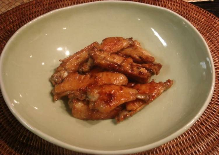 Easiest Way to Make Favorite Chicken Spare Ribs Simmered in Ume Jam