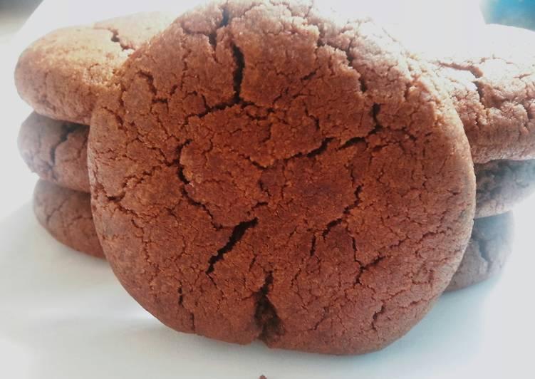 Chocolate cookies (eggless)