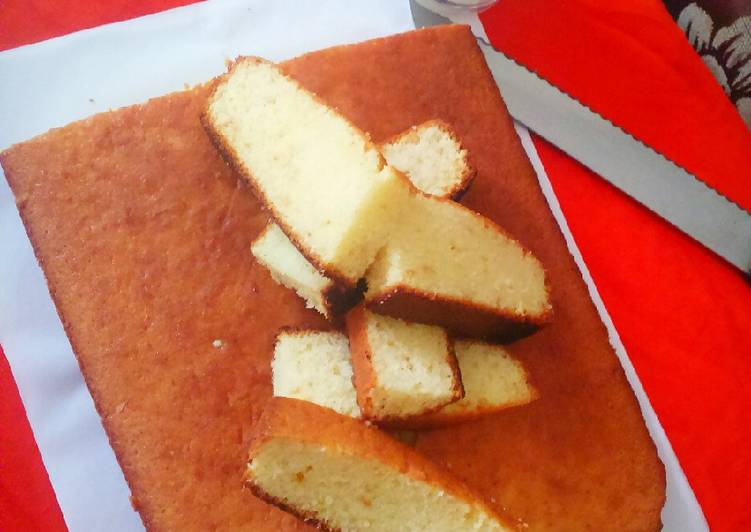 Simple Way to Make Any-night-of-the-week Hot Milk Cake