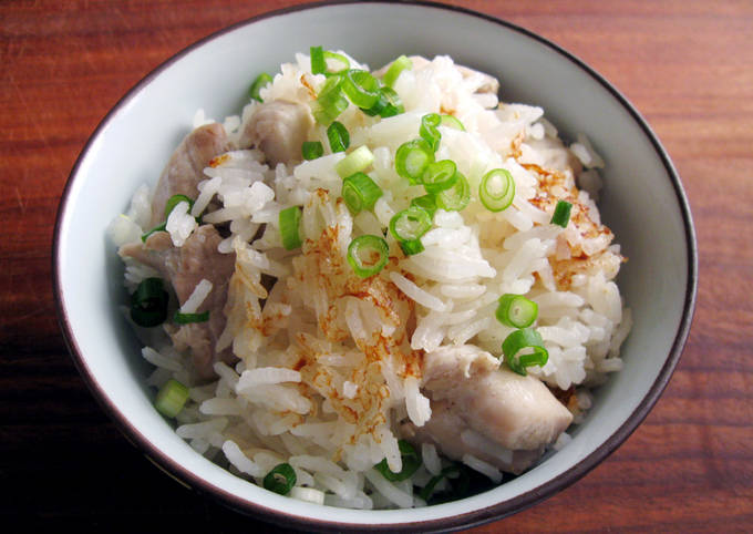 Lemongrass Chicken Jasmine Rice