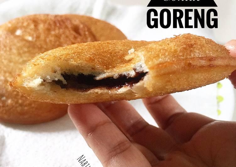 Roti Tekap Coklat Goreng - resepipouler.com