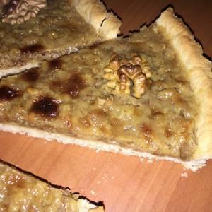 Kuchen de Nuez (tarta de nuez)