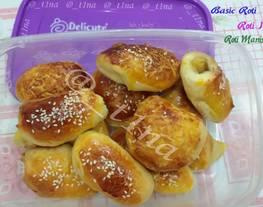 Roti Manis / Roti Isi/ Resep Dasar Roti (Roti Empuk)
