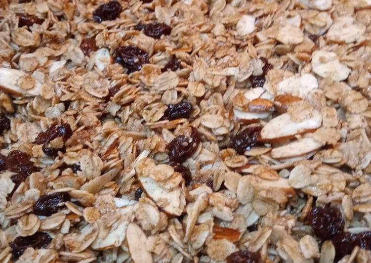 Easiest Way to Make Perfect Healthy Granola