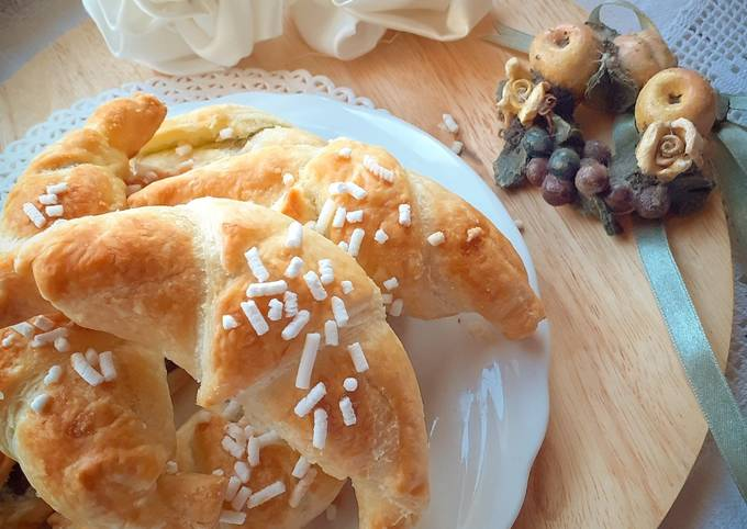 Croissant express per una colazione a casa