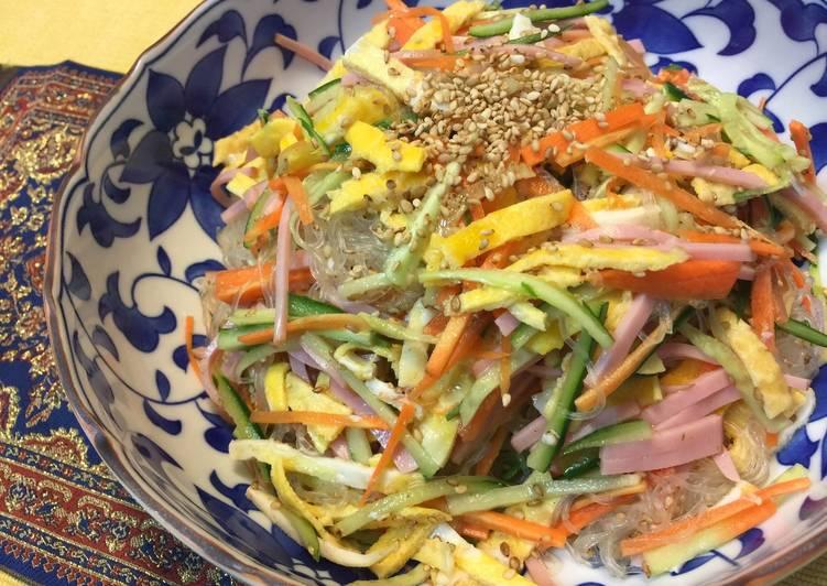 Japanese Harusame Noodle Salad, Heart Friendly Foods You Should Eat