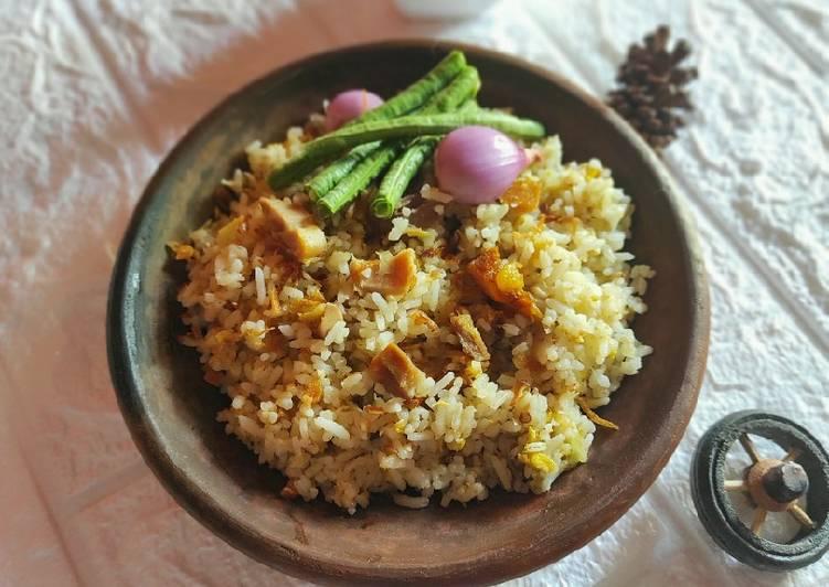 Nasi Goreng Kencur (tanpa kecap dan saos)