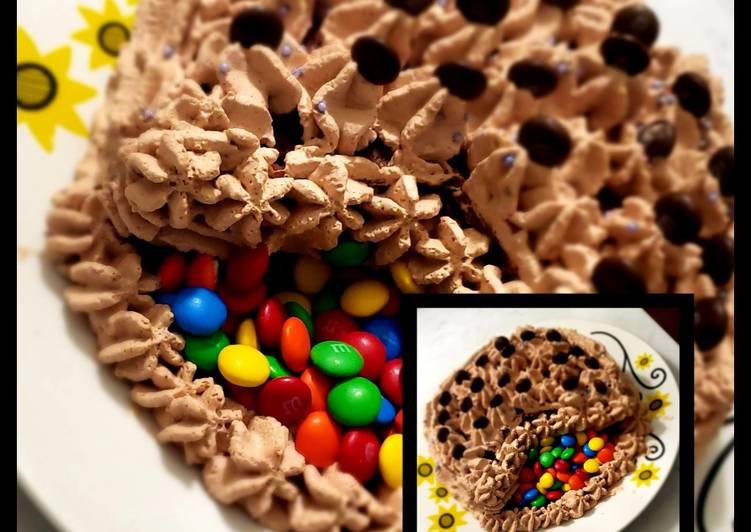 Choco cake frosting