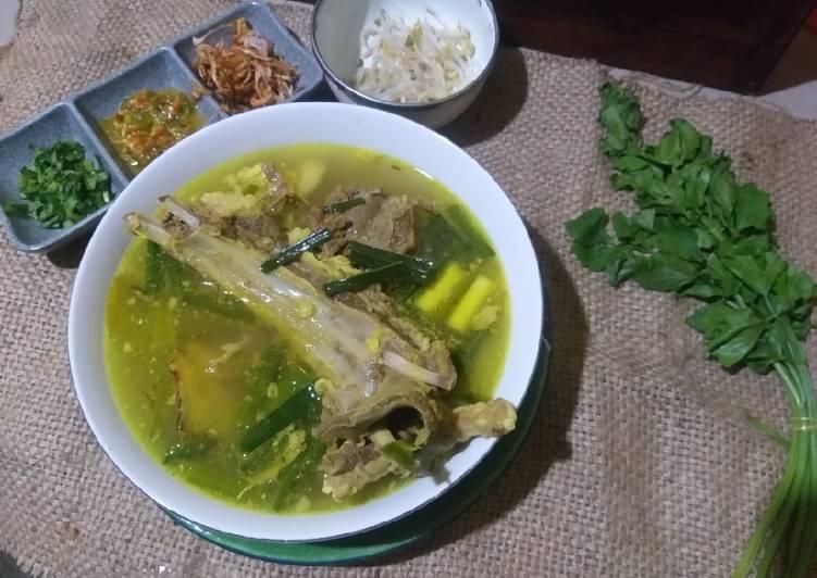 Resep Soto Daging Sapi Oleh Neng Geulis Sofyan Cookpad