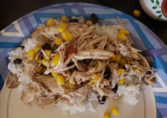 Santa Fe Chicken in Croc Pot