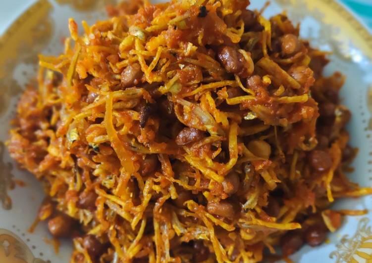 Sambal kentang teri kacang