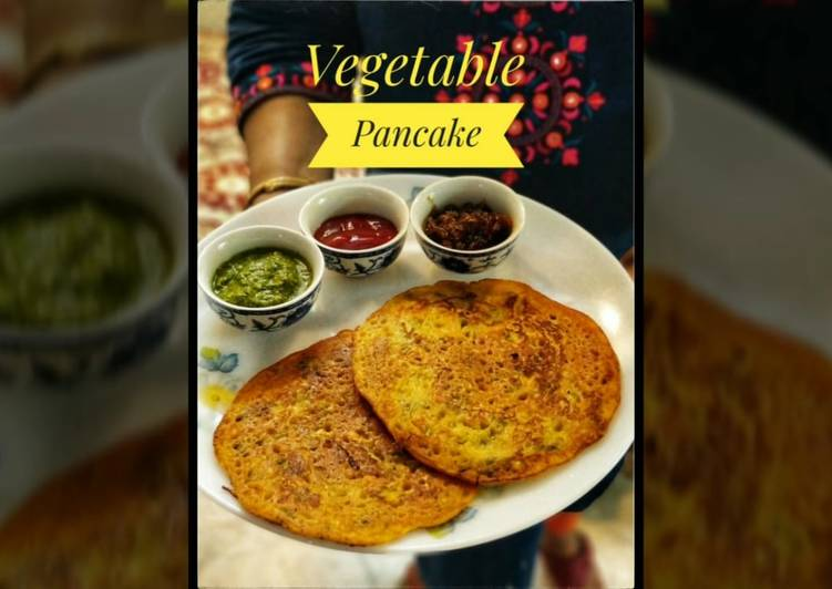 Steps to Make Super Quick Homemade Vegetable pancake