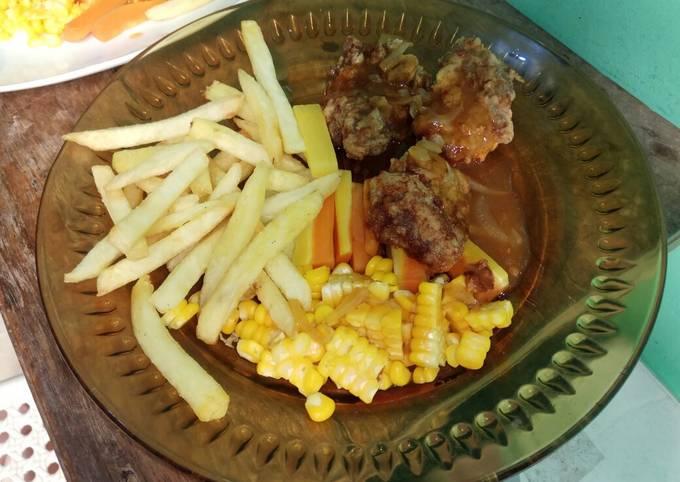 Steak Daging Sapi ala Qila_Kitchen - projectfootsteps.org