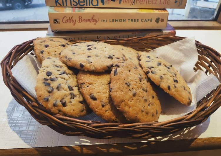 Wheat & Ragi Flour chocolate chip cookies