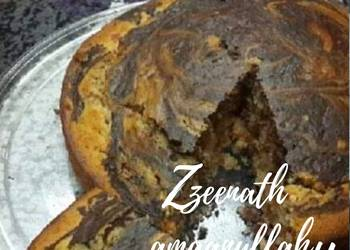 Easiest Way to Cook Yummy Vanilla Chocolate Tutti Frutti Swirl Cake