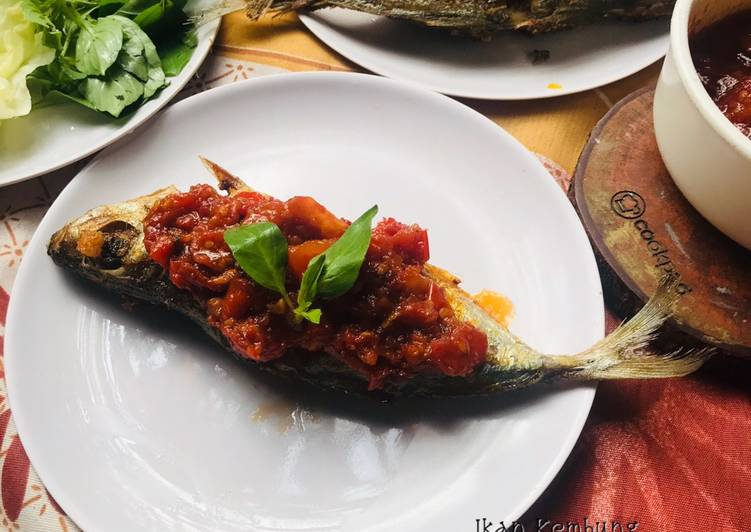 Ikan Kembung sambel tomat pedas