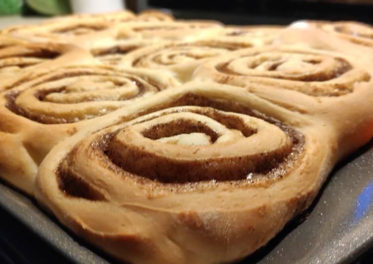 Yeast Cinnamon Rolls