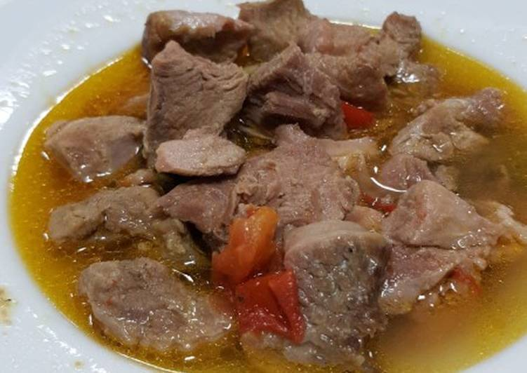 Simple Way to Prepare Quick Turkey pepper soup