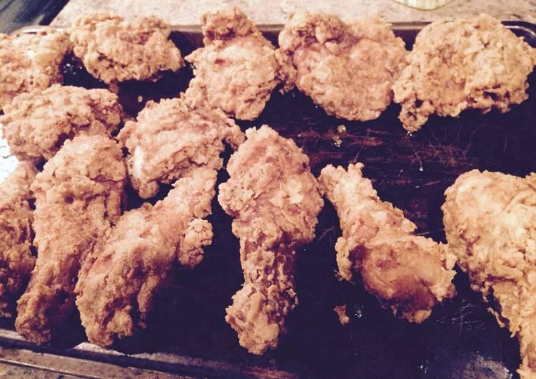 Paula Deen Fried Chicken Repeat