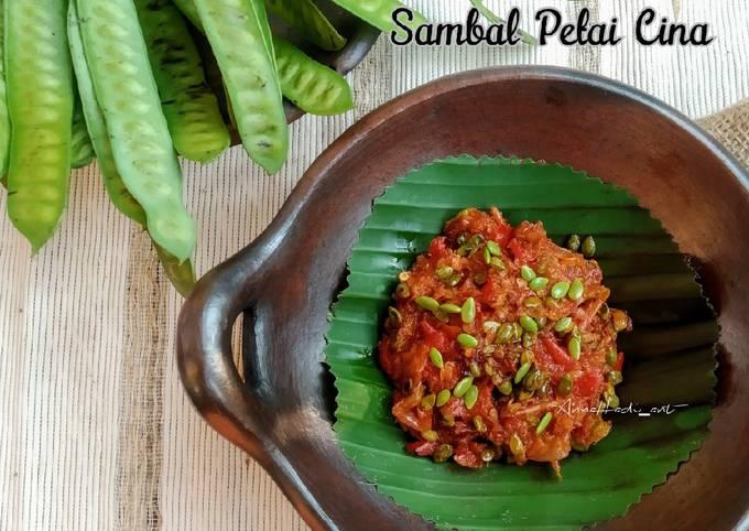 sambal petai cina (mlanding) - resepenakbgt.com